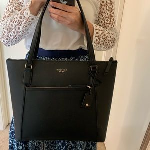 KATE SPADE CAMERON LARGE POCKET TOTE LEATHER